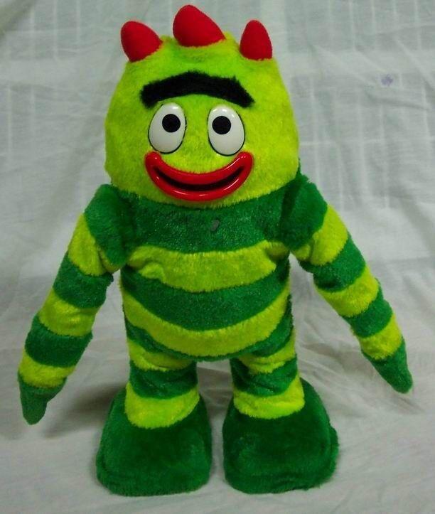 Yo Gabba Gabba DANCING SINGING BROBEE 14  Plush STUFFED ANIMAL Toy