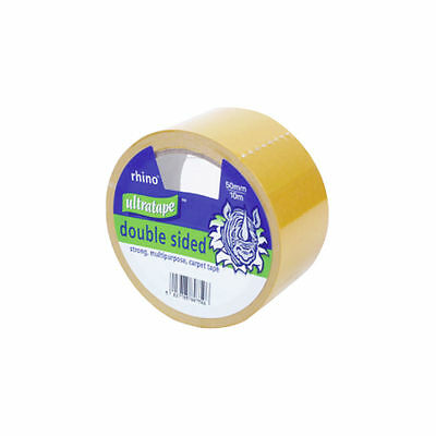 50MMx10M ULTRA STRONG MULTIPURPOSE DOUBLE SIDED CARPET TAPE ADHESIVE STICKY 506