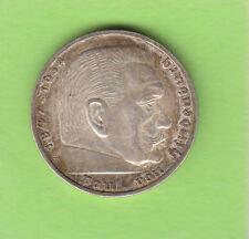 5 Reichsmark 1935 E Hindenburg besser als vz hübsch nswleipzig