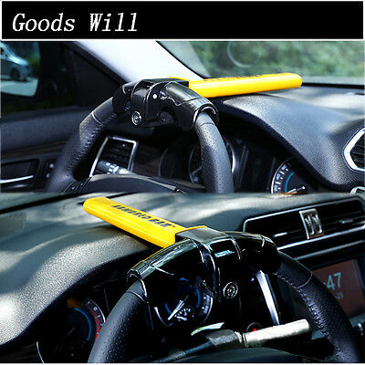 Anti-Theft  Security Rotary Steering Wheel Lock Top Mount For SUV Auto Car Great