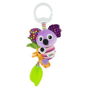Lamaze Mini Clip and Go Koala Baby Toy, clip sur bébé landau jouet et poussette jouet