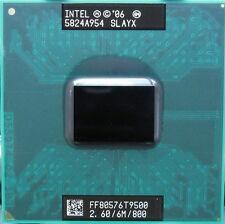 Intel Core 2 Duo T9500 2.6GHz 6M 800 CPU Laptop Processor Dual-Core TESTED