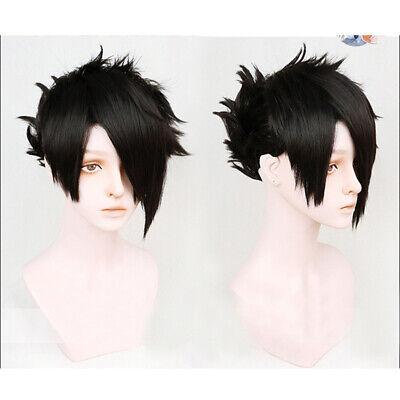 PANQQ The Promised Neverland Ray Black Short Wig Cosplay Costume Yakusoku no Neverland Men Wigs