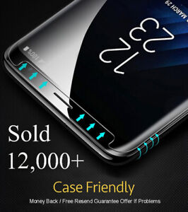 Samsung-Galaxy-S9-S8-S10-Plus-Case-Friendly-Real-Tempered-Glass-Screen-Protector