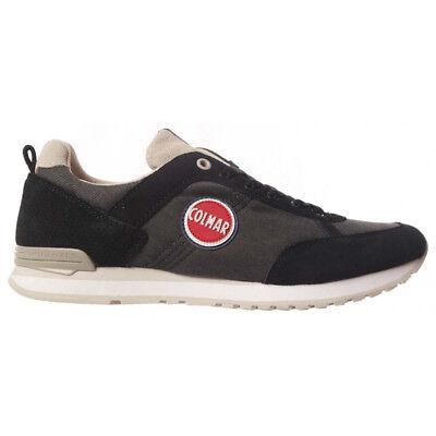 Scarpe sneakers uomo COLMAR TRAVIS COLORS 004 bianco primavera estate 40/% sconto