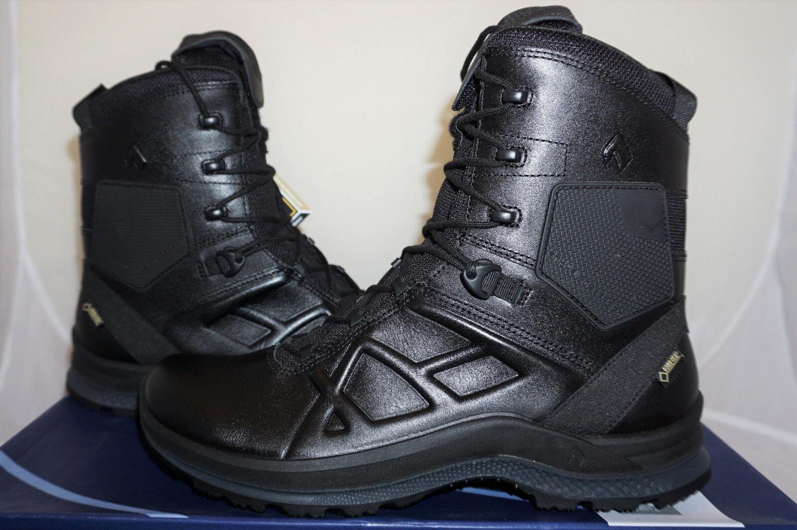 HAIX negro Eagle Tactical 2.0 High UE 43 us 9,5 montaña zapatos noté
