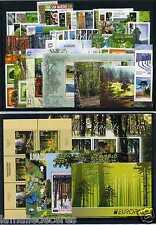 NOUVEAU ! ANNEE EUROPA 2011 / TP + BLOCS / Thême Arbres / forêt. Prix Nouveautés