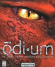 Odium RPG PC Game Complete w/Case Disc & Manual