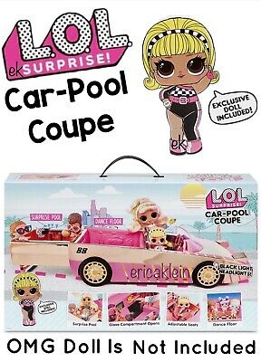 Lol Surprise Car Pool Coupe For Omg Dolls Tots With Dance Floor Ebay