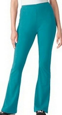 "Women's Tall Bootcut Yoga Pants Inseam: 30.5""-35"" Plus & Regular Sizes Turqouise"