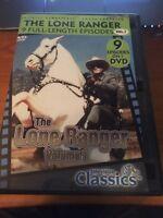 The Lone Ranger volume 1 (DVD) 9 Full Length Episodes...137