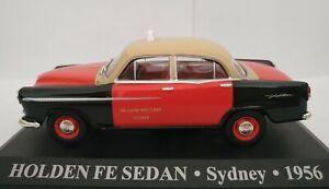 1-43-HOLDEN-FE-SEDAN-SYDNEY-1956-TAXI-SIN-CAJA-IXO-ALTAYA-ESCALA-DIECAST