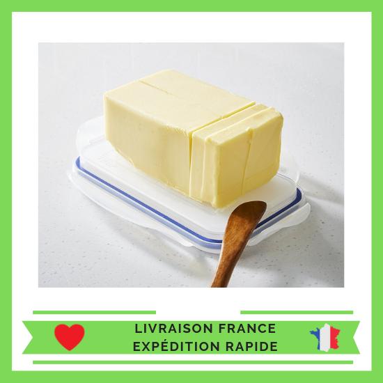 Lock & Lock HPL956 Boîte spécifique à beurre beurrier étanche à 100% - 750 ml