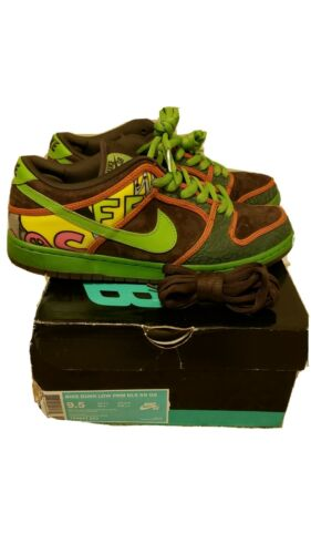 Nike Sb Dunk Low De La Soul Size 9.5