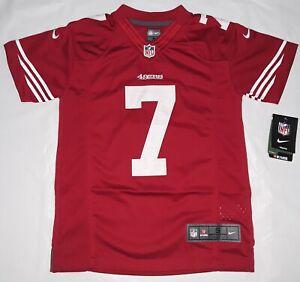 Nike-SAN-FRANCISCO-49ERS-7-COLIN-KAEPERNICK-NFL-Players-Boys-Jersey-S