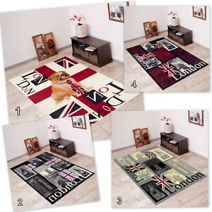 Image Is Loading New Modern Funky Rug Small X Large Union