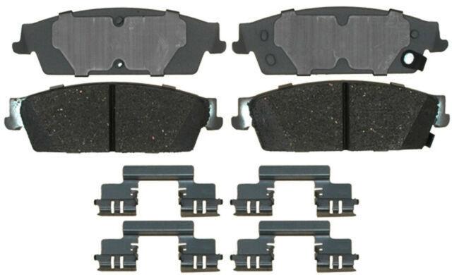 Disc Brake Pad Set-Ceramic Disc Brake Pad Rear ACDelco Advantage 14D1194CH