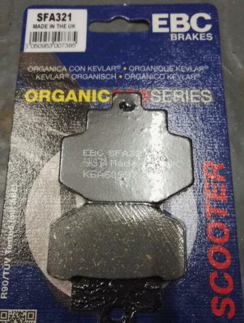 Vespa 946 Special EBC Rear Brake Pads SFA321 Organic