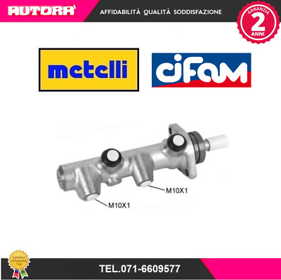 050130-G Cilindro maestro del freno Citroen-Fiat-Peugeot CIFAM,METELLI
