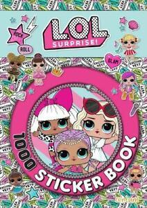 LOL-Surprise-1000-Sticker-Book-Centum-Books-Ltd-New