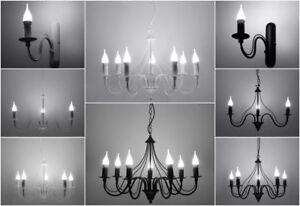 Kronleuchter Led Schwarz ~ Led lampe hängeleuchte kronleuchter wandleuchte fiorano modern