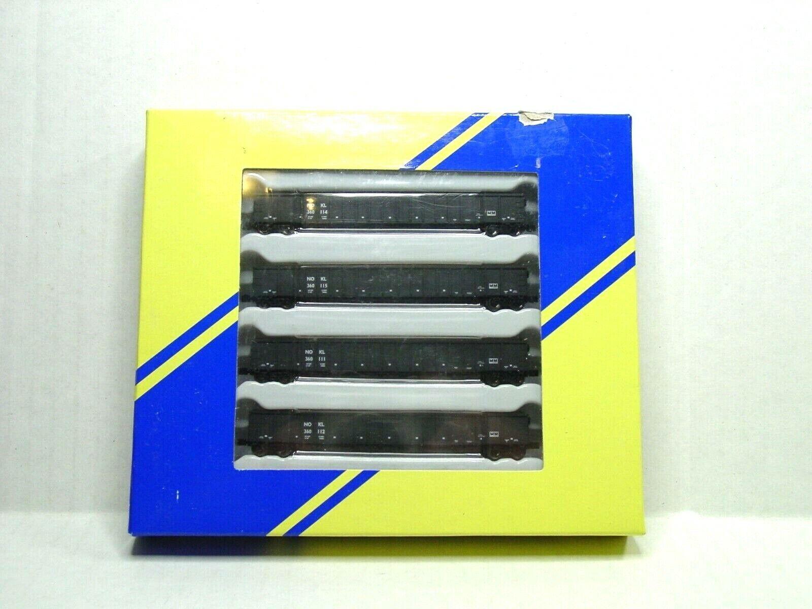 AMERICAN Z LINE Z SCALE 3564 GONDOLA 4 PACK NOKL AZL90255-1