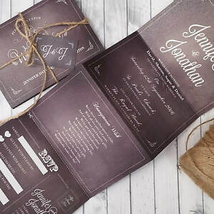 Personalised-Wedding-Invitations-Or-Evening-Invites-with-Kraft-Envelopes