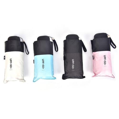 Mini 5Folding Compact Supers Winddicht Anti-UV Regen Sun Travel Umbrella P YT