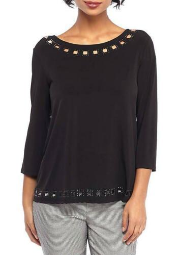 Top Black Limited® 79 Nwt Knit The 191777033183 M Cutout Beaded cZWafq8YwE