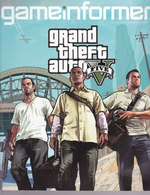 GameInformer Issue 236 December 2012 -- Grand Theft Auto V, 2012 Holiday Guide