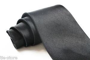 MENS-BLACK-NECK-TIE-CLASSIC-PLAIN-NECKTIE-4-034-10cms-TIES-NECKTIE-WEDDING-BUSINESS