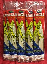 Lot of 5 EAGLE F-15 Balsa wood Air Plane glider GUILLOWS Jet model kit
