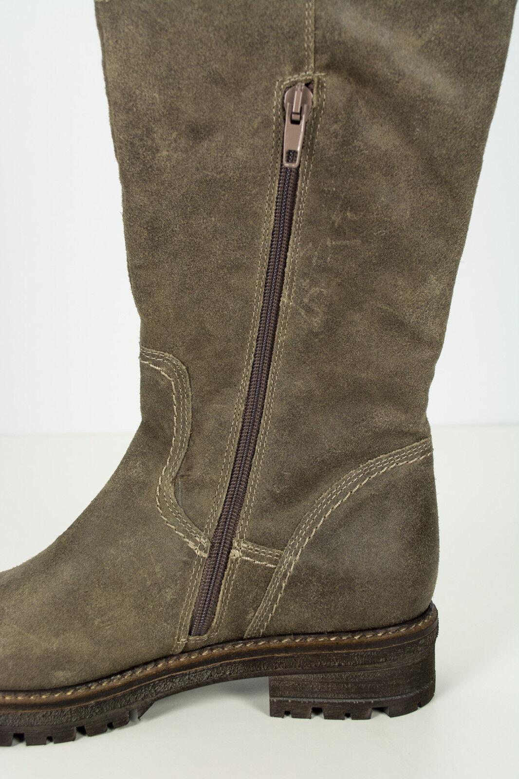 Winter Stiefel Leder 37  Grau Grau Grau Grau Kollektionsteil Wollfilz als Innenfutter 0be12a