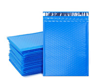 500 0 6x10 Blue Poly Bubble Padded Envelopes Mailers Shipping Case 6x10