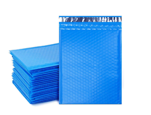 """50 #2 8.5x12 Blue Poly Bubble Padded Envelopes Mailers Shipping Case 8.5/""""x12/"""""""