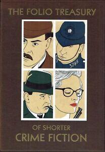 The-Folio-Treasury-of-Shorter-Crime-Fiction-4-Volume-Set