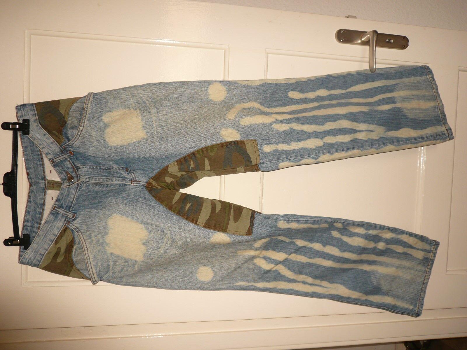 Designerjeans Jeans Neu Camouflage sehr selten     | Überlegen  | Sehr gelobt und vom Publikum der Verbraucher geschätzt  | Spielzeugwelt, spielen Sie Ihre eigene Welt