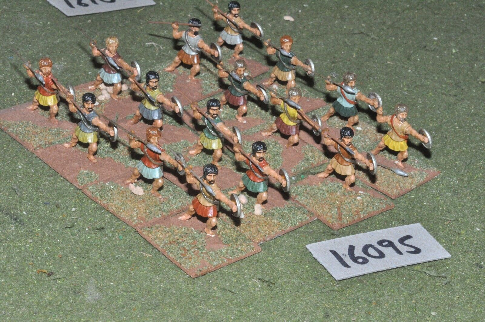 25mm classical   greek - javelinmen 16 figs - inf (16095)