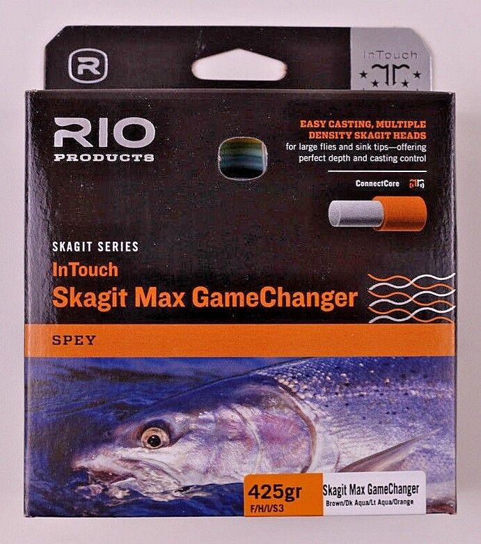 Rio Skagit Max giocoChanger Shooting Head 425 FHIS3 gratuito FAST SHIPPING 619145