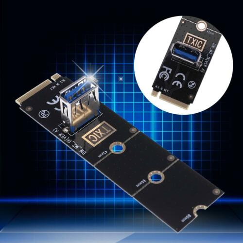 M.2//NGFF to USB 3.0 Port Converter Adapter Graphic Card Cable Extender Mining