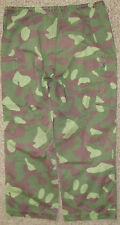 FINLAND FINNISH ARMY M/62 REVERSIBLE WOODLAND/SNOW CAMO BDU PANTS SIZE 52 LARGE