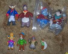 1991 Disney Playmates Tale Spin 6 Action Figure collection Lot