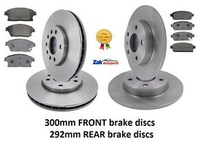 VAUXHALL-ASTRA-J-MK6-09-1-7-2-0-CDTi-FRONT-AND-REAR-BRAKE-DISCS-AND-PADS-SET