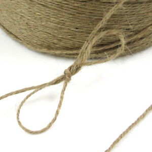 2-5-10-METRES-TWINE-CORD-STRING-RUSTIC-WEDDING-SHABBY-VINTAGE-HESSIAN-2mm-T2157