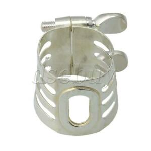 Clarinet-Parts-Copper-Silver-Plated-Clarinet-Mouthpiece-Ligature-Replacement