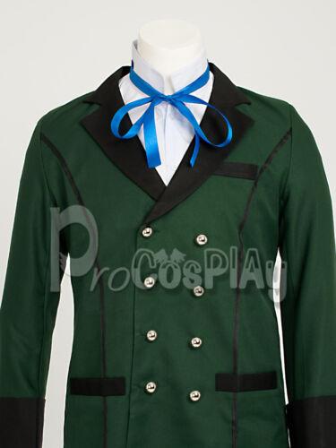US Free Ship ~ Black Butler Ciel Phantomhive Simplified Cosplay Costume mp002449