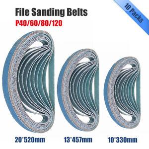 Abrasive-File-Sanding-Belts-Silicon-Carbide-40-60-80-120-Grit-10mm-13mm-amp-20mm