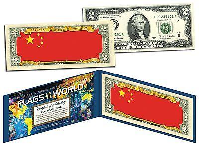 Genuine Legal Tender U.S $2 Bill Note BACCARAT Casino Game ASIAN Lucky Money