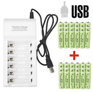 Lot-AA-Rechargeable-Batteries-NiCd-700mAh-1-2v-Ni-Cd-AA-Battery-Garden-Light-USA