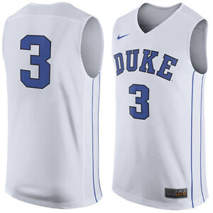 newest a73ae eb9a5 Details about DUKE BLUE DEVILS BASKETBALL JERSEY-NIKE ELITE-#3 TRE JONES  NWT-2XL-RETAIL $75